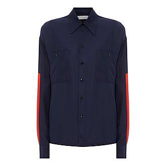 Panel Sleeve Shirt