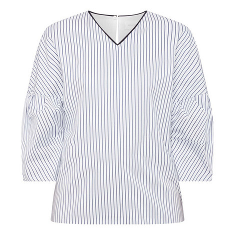Victor Pinstripe Shirt, ${color}
