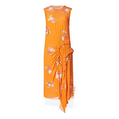 Antoinette Crêpe Dress, ${color}