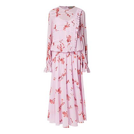 Georgette Gilda Dress, ${color}
