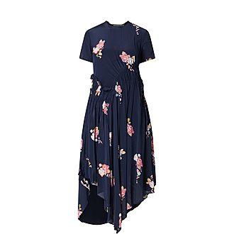 Verna Crêpe Dress