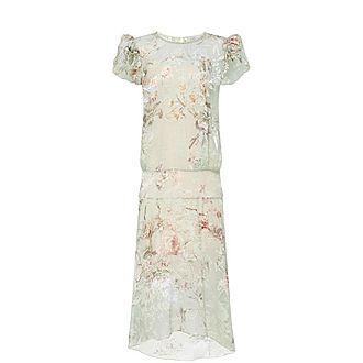 Helena Floral Midi Dress