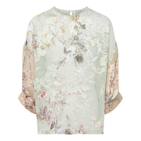 Leah Floral Top, ${color}