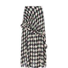 Sadie Checked Skirt