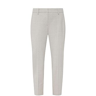 Traceable Wool Trousers