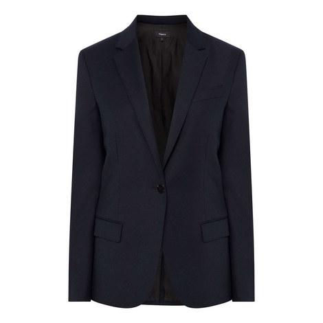 Flanner Blazer Jacket, ${color}