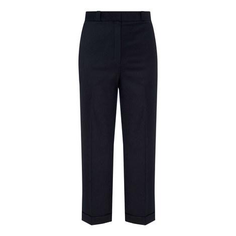 Flannel Cuff Trousers, ${color}