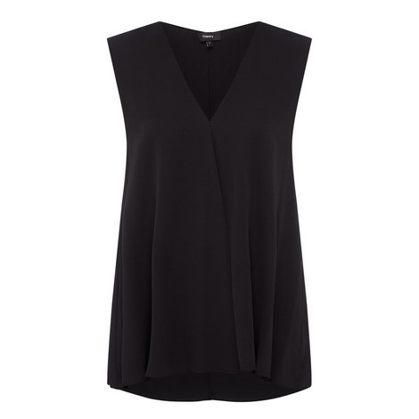 A-Line Sleeveless Blouse, ${color}