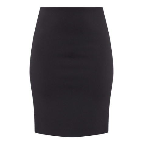 Pull-On Pencil Skirt, ${color}