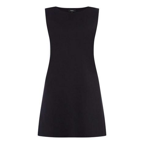 Panel Scuba Dress, ${color}