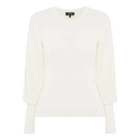 Blouson Sleeve Sweater, ${color}