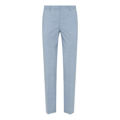 Travel Wool Tailored Trousers, ${color}