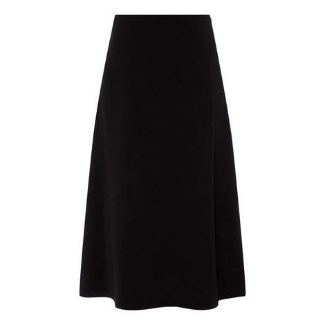 Crepe Midi Skirt, ${color}