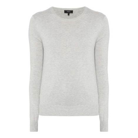 Knit Crew Neck Sweater, ${color}