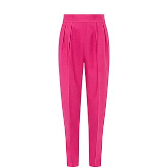 Linen Pleat Trousers