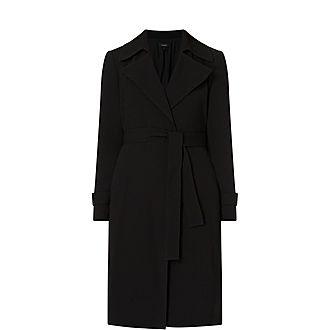 Oaklene Crepe Coat