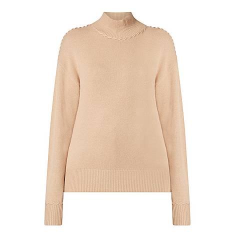 Cashmere Turtleneck Sweater, ${color}