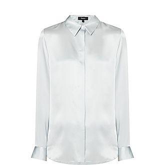 Stretch-Silk Shirt