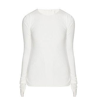 Corded Rib Sweater
