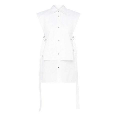 Sleeveless Bib Shirt, ${color}