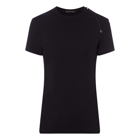 Bra Strap Ribbed T-Shirt, ${color}
