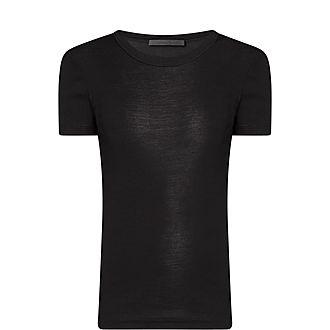 Silk Rib T-Shirt