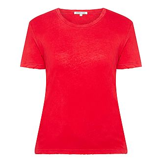 Distressed Sleeve T-Shirt