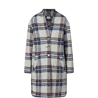 Gabriel Checked Coat