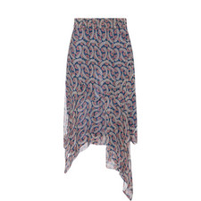 Eda Asymmetrical Skirt
