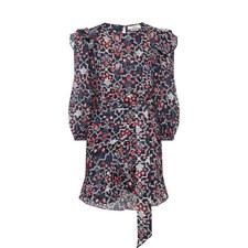 Telicia Print Dress