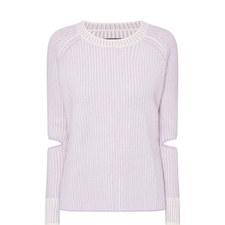 Turing Elbow Slit Sweater
