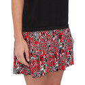 Rose Trim Jersey Dress, ${color}