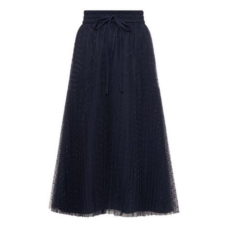 Plisse Tulle Skirt, ${color}