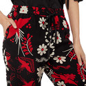 Decorated Terrace Silk Trousers, ${color}