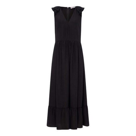 Maxi Silk Dress, ${color}