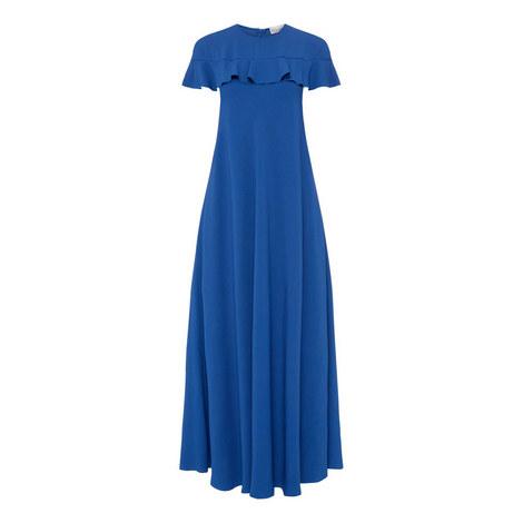 Ruffle Collar Dress, ${color}