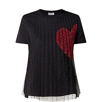Heart Lace T-Shirt