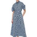 Polka Dot Shirt Dress, ${color}