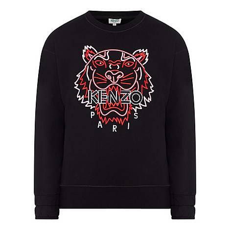 Neon Tiger Sweatshirt, ${color}