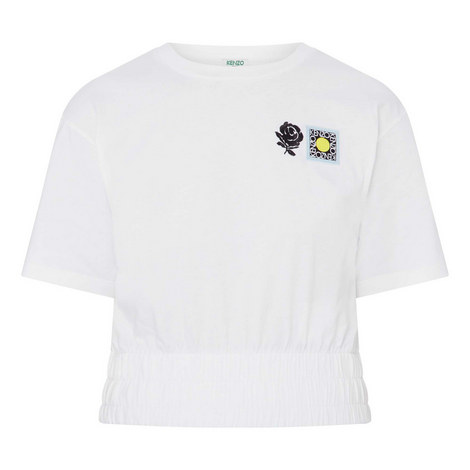 Cropped Rose T-Shirt, ${color}