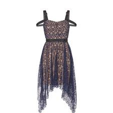 Asymmetrical Lace Dress