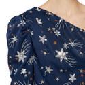 Star One Shoulder Top, ${color}