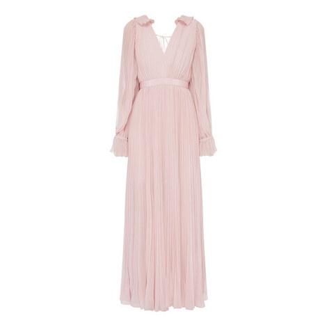 Chiffon Maxi Dress, ${color}