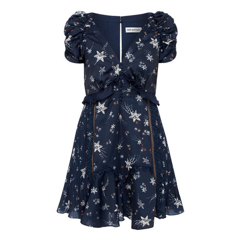 Star Satin Mini Dress, ${color}
