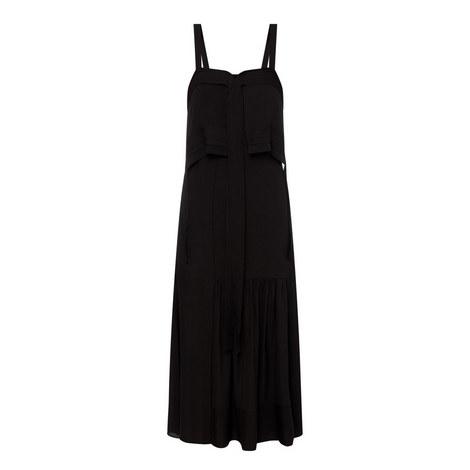 Silk Tie Gown, ${color}