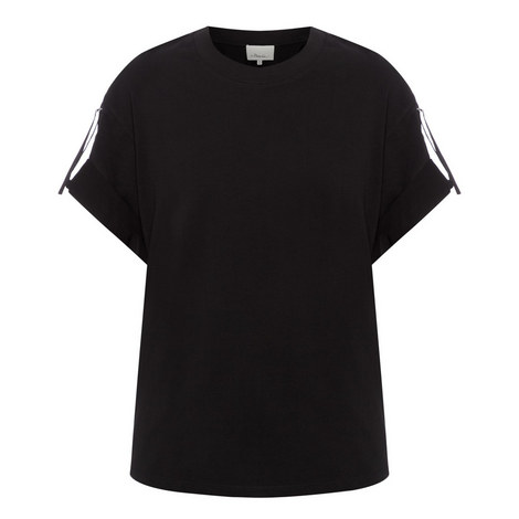 Strap Sleeve T-Shirt, ${color}
