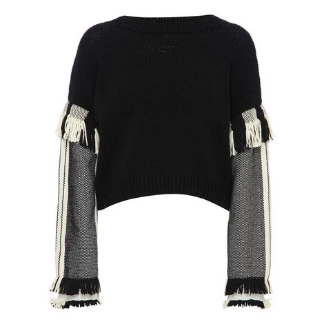 Fringed Sweater, ${color}