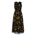 Midi Cherry Print Dress, ${color}