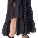 Gingham Midi Skirt, ${color}