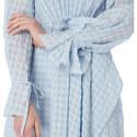 Flared Check Midi Dress, ${color}